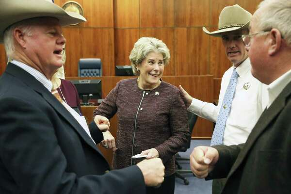 San Antonio's Susan Pamerleau takes formal oath as new U S  Marshal