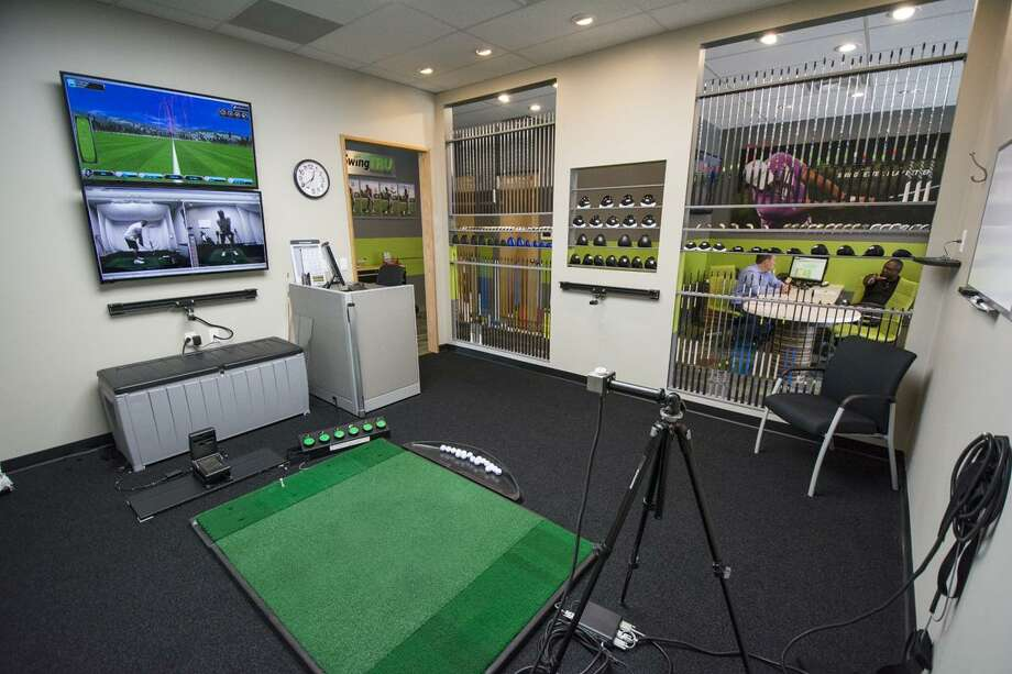 Golftec has four teaching/practice bays at the new Sugar Land location. Photo: Golftec / GOLFTEC 2018