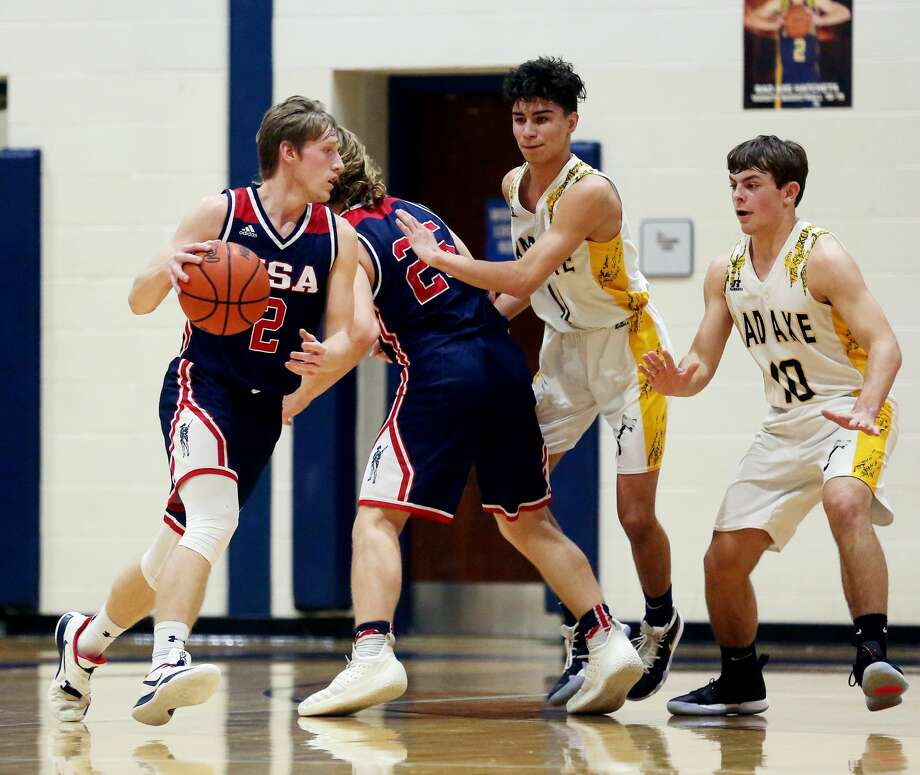 USA 46, Bad Axe 37 Photo: Paul P. Adams/Huron Daily Tribune