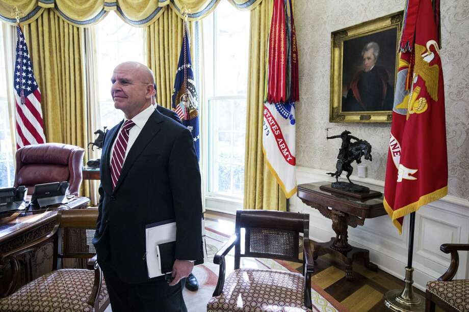 H.R. McMaster in the White House last year. Photo: Zach Gibson / Bloomberg / © 2019 Bloomberg Finance LP