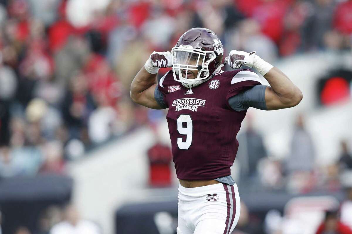 MONTEZ SWEAT, MISSISSIPPI STATE In a draft stacked with defensive-line talent, Mississippi State's Montez Sweat might be the best pure athlete of the bunch. The 6-foot-6, 260-pound edge rusher dazzled at the NFL combine with a 4.41-second 40-yard dash -- the fastest time for a defensive lineman in the history of the event. He has tremendous length (his arms are 35 ¾ inches long) and long strides in his rush too, though he will probably to need to add more strength for the next level. Due to a heart condition, Sweat could fall into the late first round, which would give the Seahawks a great opportunity to snag him. Sweat, a first-team All-SEC selection and a second-team All-American as a senior last year, had 22 sacks across two years at Mississippi State.