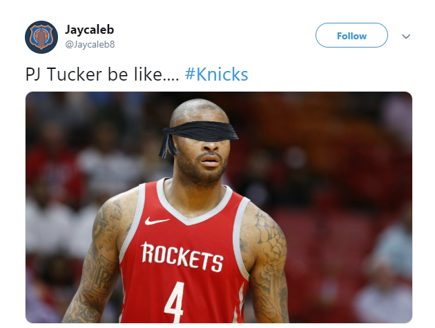 Memes roast Rockets' P.J. Tucker after bizarre last-minute blunder