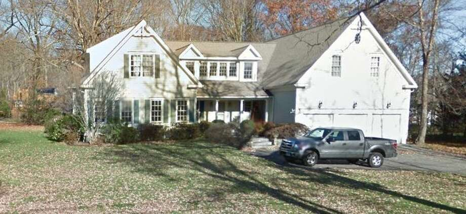 45 Huckleberry Lane in Darien sold for $1.4 million. Photo: Google Street View