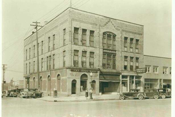 Larkin Block in downtown Midland, 1932. (Photo provided/Midland County Historical Society)