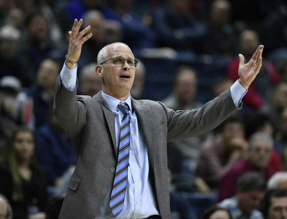 UConn coach Dan Hurley Photo: Jessica Hill / Associated Press / Copyright 2019 The Associated Press. All rights reserved