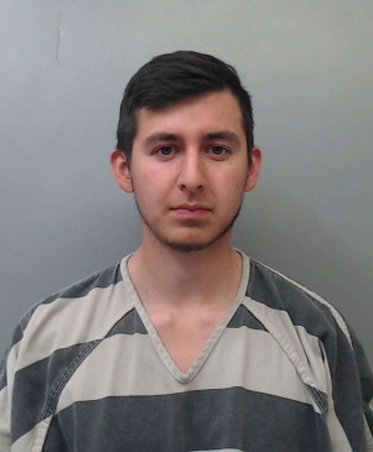 Juan Jose Chavarria, 25, was charged with indecent exposure. Photo: Webb County Sheriff's Office