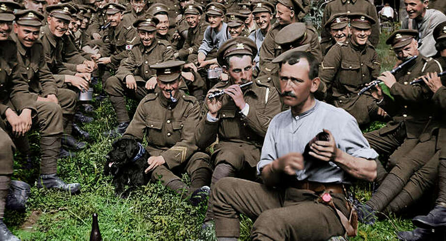 "This image released by Warner Bros. Entertainment shows a scene from the WWI documentary ""They Shall Not Grow Old,"" directed by Peter Jackson. Photo: Warner Bros. Entertainment Via AP"