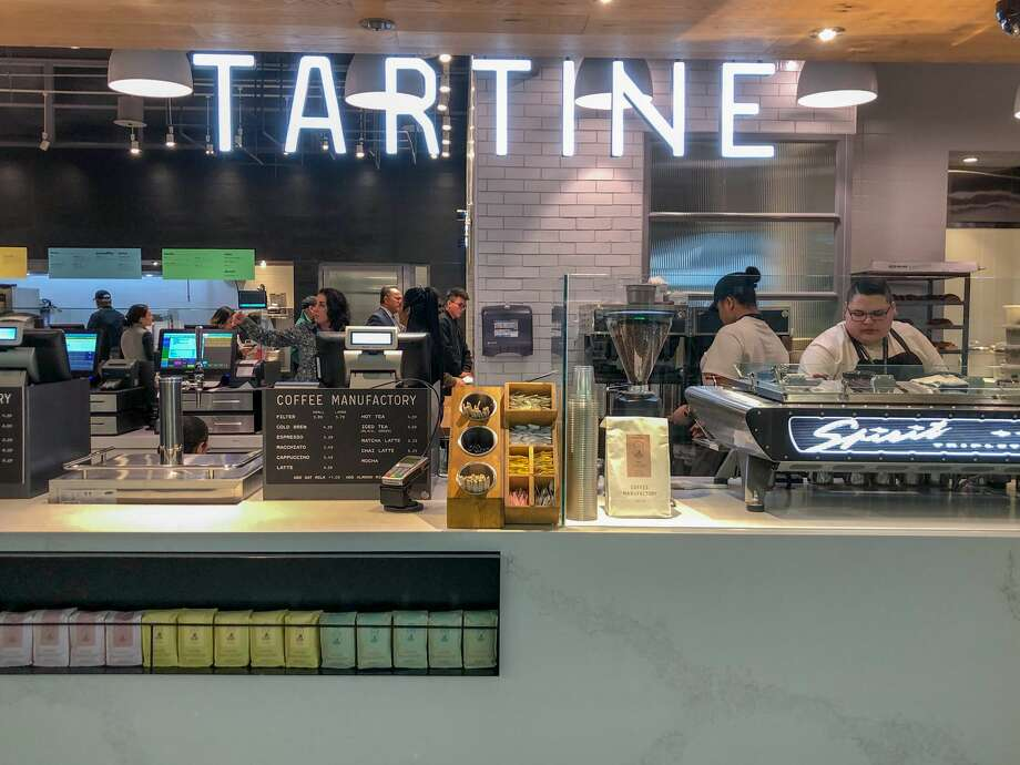 New dining options abound behind security in Boarding Area A at SFO's International Terminal Photo: SFO