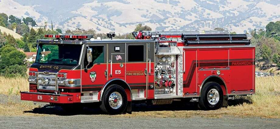 The Woodlands Township Board of Directors on Wednesday approved the purchase of a $987,000 Pierce Velocity Heavy Rescue truck for The Woodlands Fire Department. Photo: Pierce Manufacturing