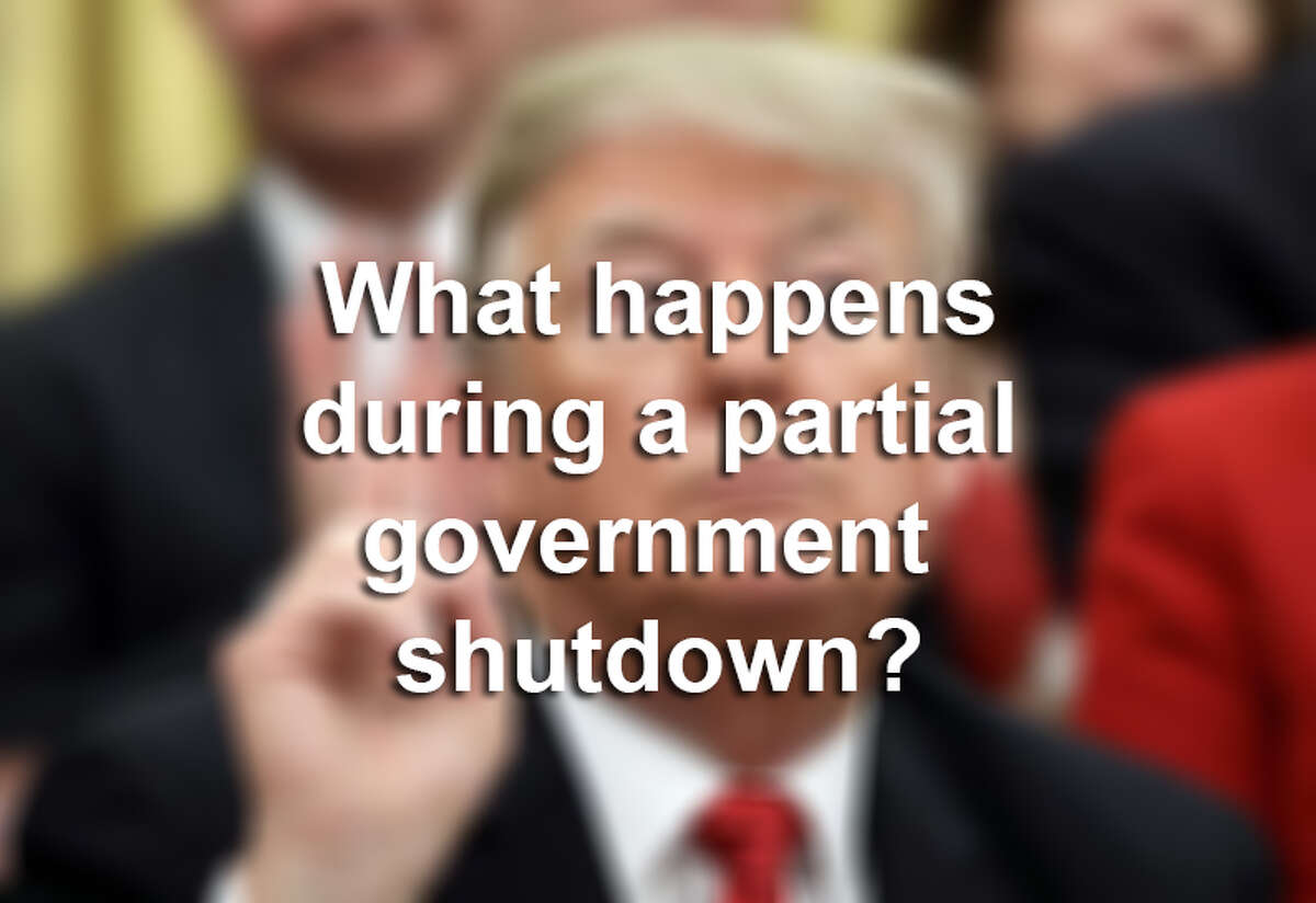 >>> Click through this gallery to see what happens around the United States during a partial government shutdown.