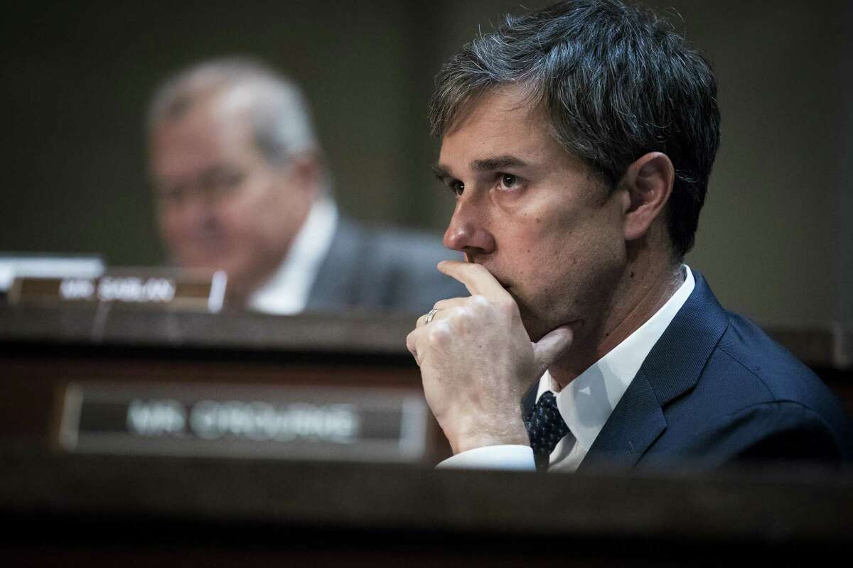 FILE -- Rep. Beto O'Rourke (D-Texas) during a hearing on Capitol Hill in Washington, Dec. 19, 2018. More than 30 Democrats are mulling presidential bids, but hardly any of them qualifies as an instant front-runner or a gifted, tested campaigner, and some of the biggest names could pass in the end. (Sarah Silbiger/The New York Times)