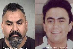 Russell Guerrero, 52, is suspected in the 1990 killing of Jack Upton. Guerrero was arrested Tuesday at his home in Tempe, Ariz.