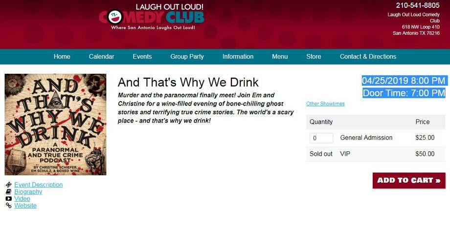 """""""And That's Why We Drink"""" will be hosting a live show in San Antonio this April. Photo: And That's Why We Drink Screengrab"""