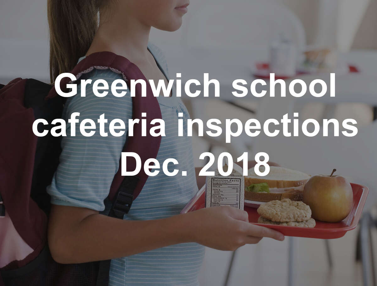 Inspections of food-service establishments were conducted by the Greenwich Department of Environmental Services in late 2018. Four-point violations and scores below 85 require immediate attention. Establishments with a score of 80 or below can be fined or forced to close. >>Click through to see how Greenwich's school cafeterias scored