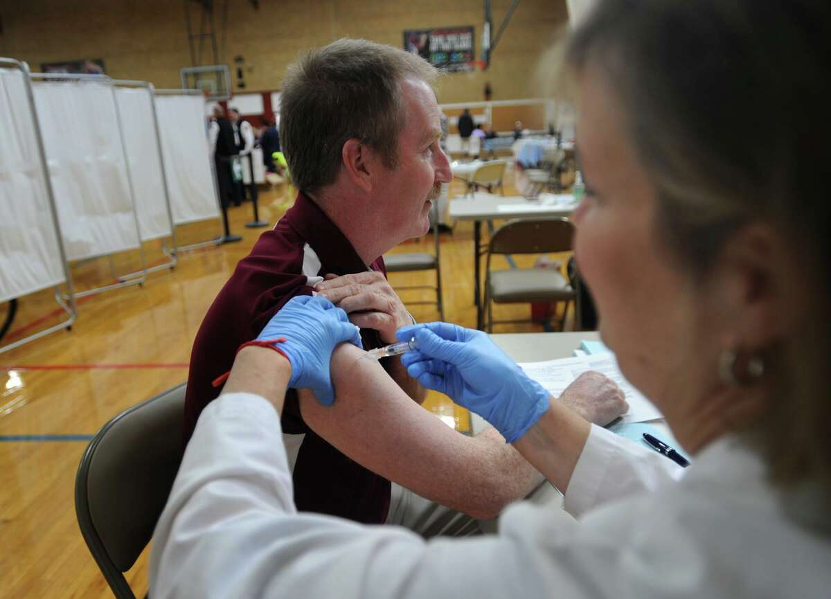 The first flu-associated deaths have been reported by the state, the Department of Public Health announced on Thursday, Nov. 14, 2019. The deaths involved a resident of Litchfield County and a resident of Fairfield County, both of whom were over 65 years old.