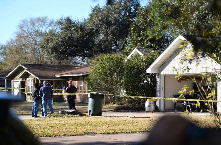 A Beaumont woman and her 1-year-old child were transported to a local hospital in serious condition after being shot in the 8700 block of Newfield Thursday afternoon. Photo: Ryan Welch