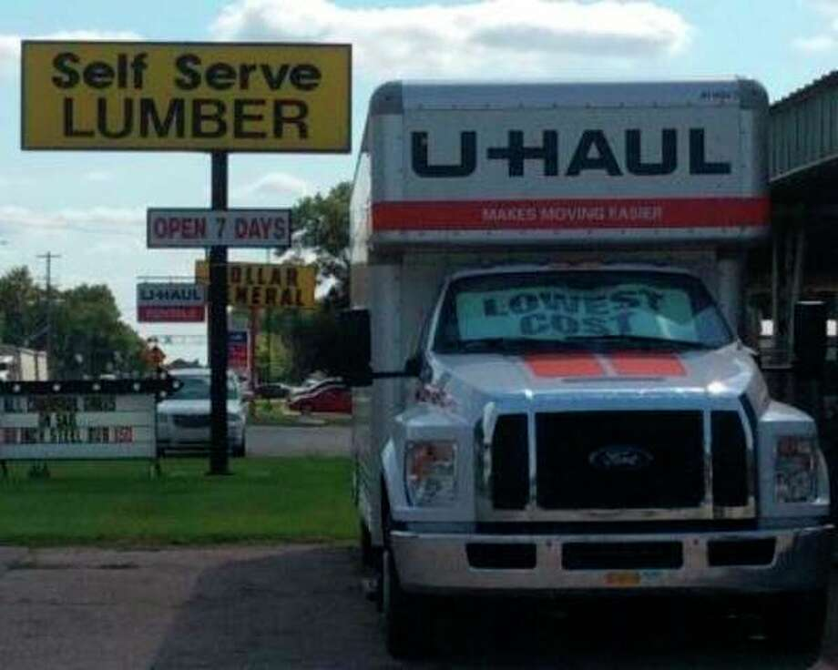 Self Serve Lumber, located at 91 N. Caseville Road, will now be offering U-Haul products to further serve the Pigeon community. (Courtesy Photo)