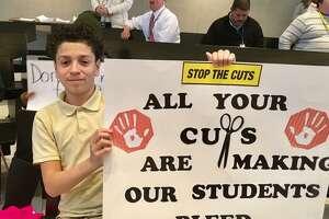 Bridgeport City Council public hearing on school budget. April 24, 2018