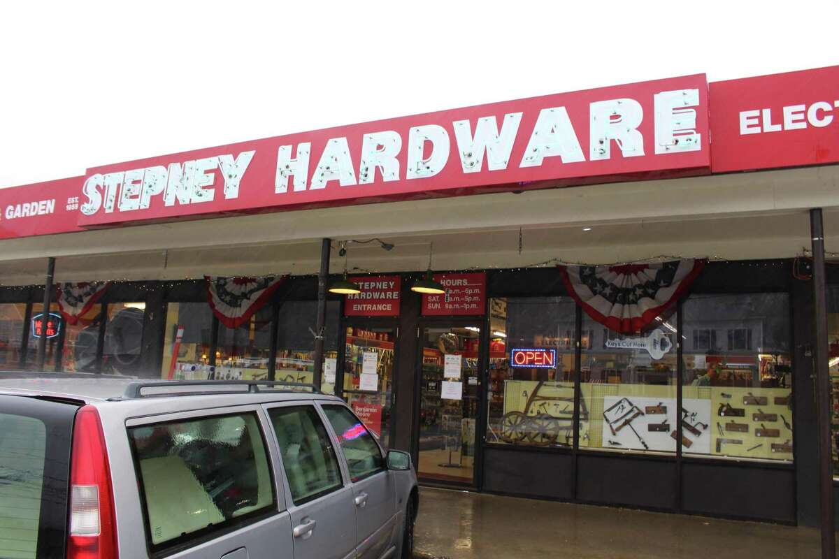 Stepney Hardware, at 590 Main Street in Monroe.