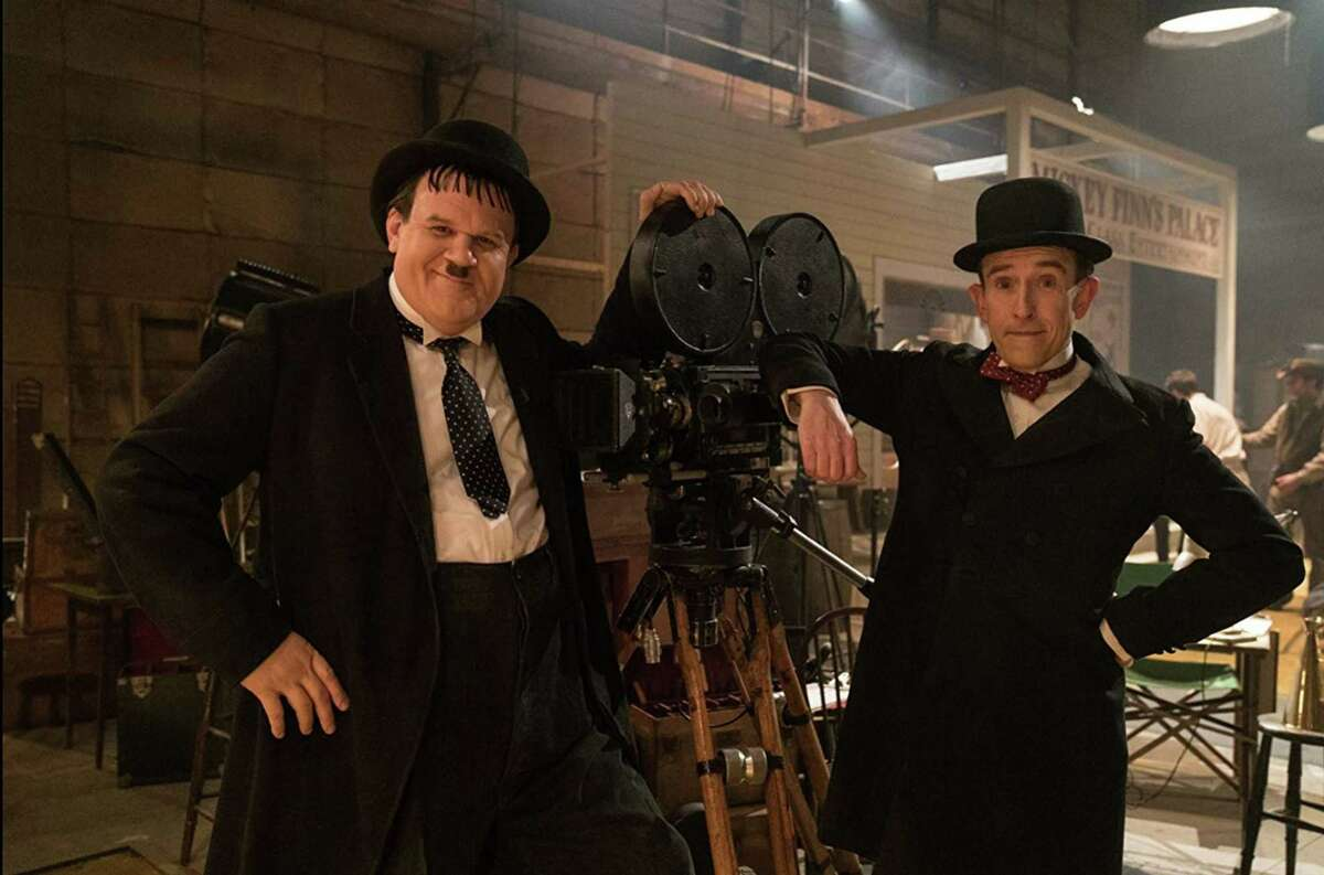"""Tribune News Service John C. Reilly (left) and Steve Coogan (right) in """"Stan & Ollie."""""""