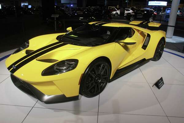 A Ford GT at the Houston Auto Show.