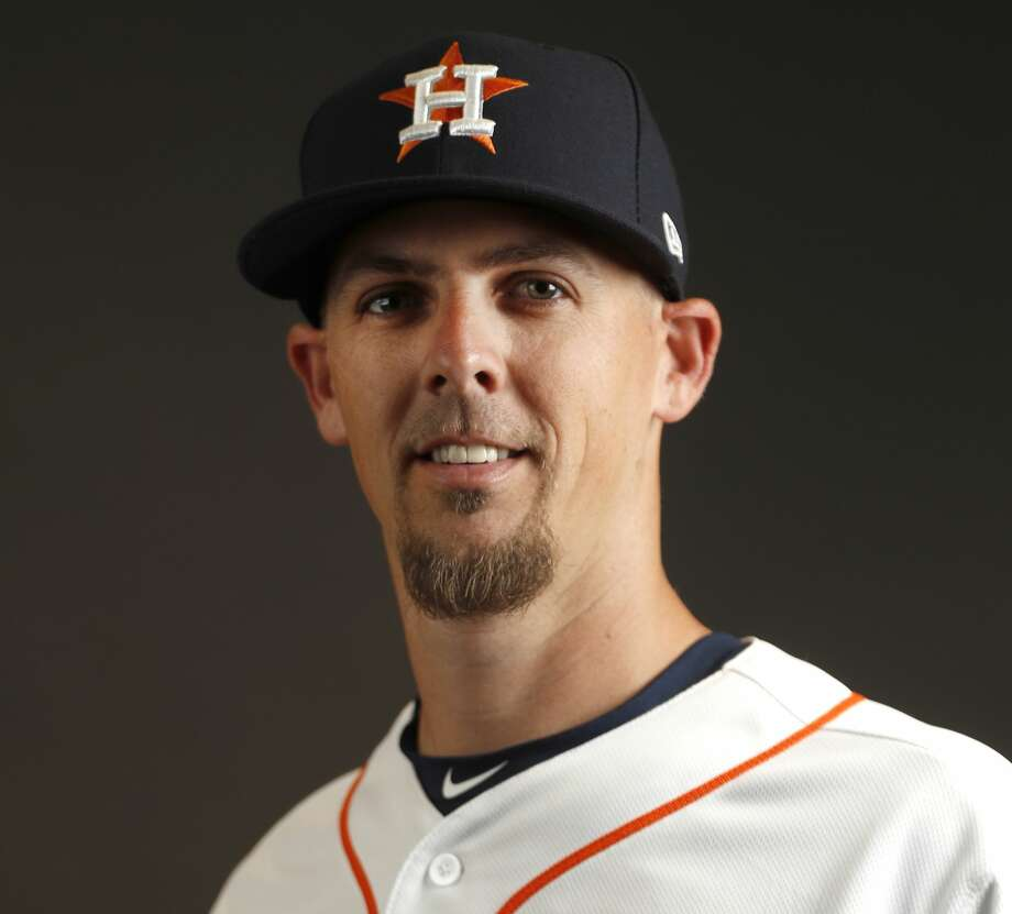 PHOTOS: Astros introduce new outfielder Michael Brantley 