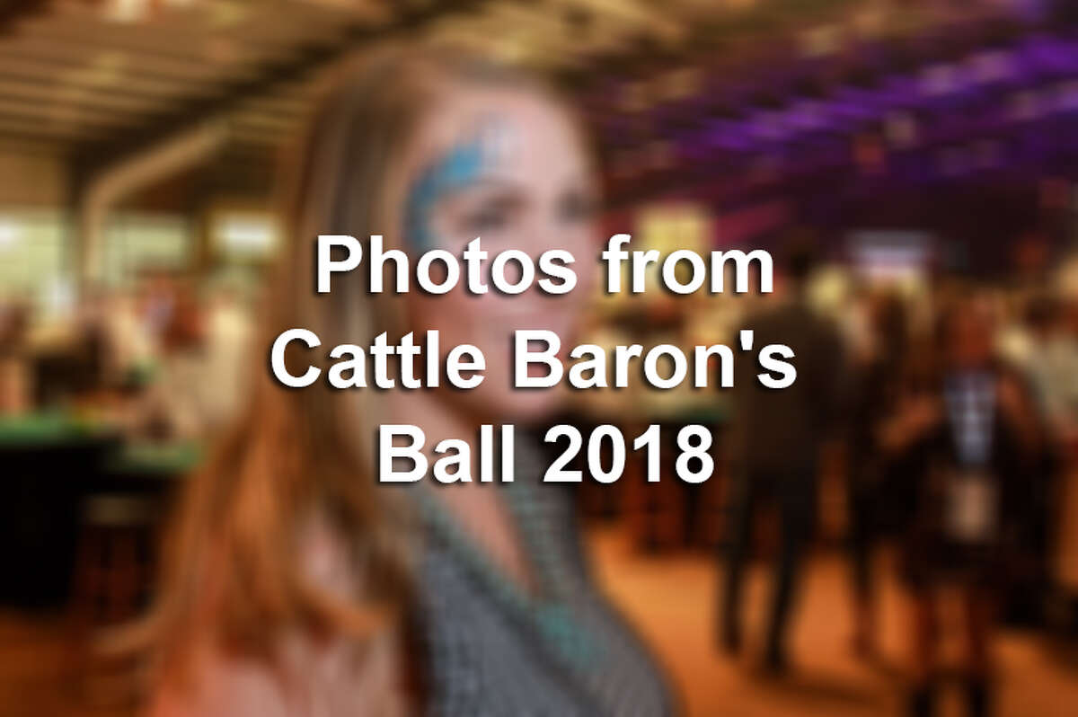 >>> Click through the following gallery to see photos from Houston's Cattle Baron's Ball in 2018.