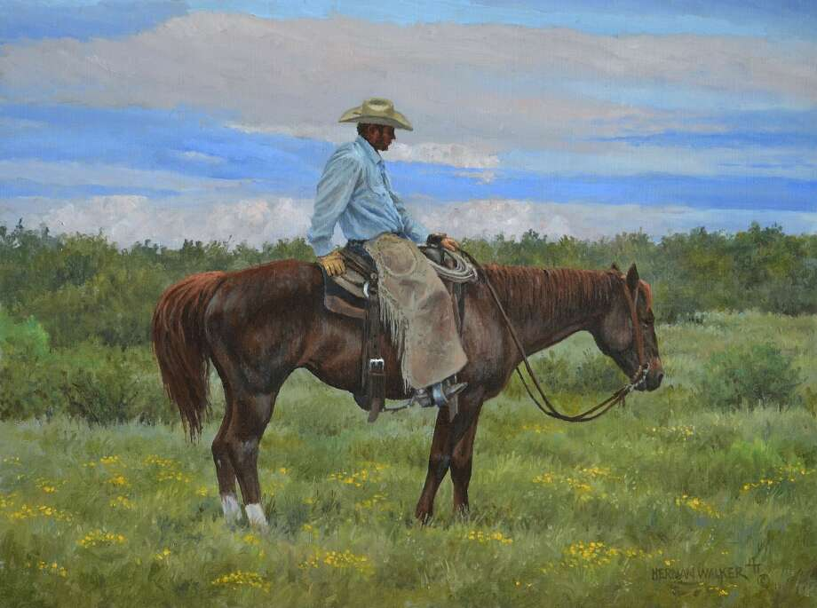 "Herman Walker's ""Visions from Cowboy Country"" opens Friday at Arts Council of Midland. Photo: Courtesy"