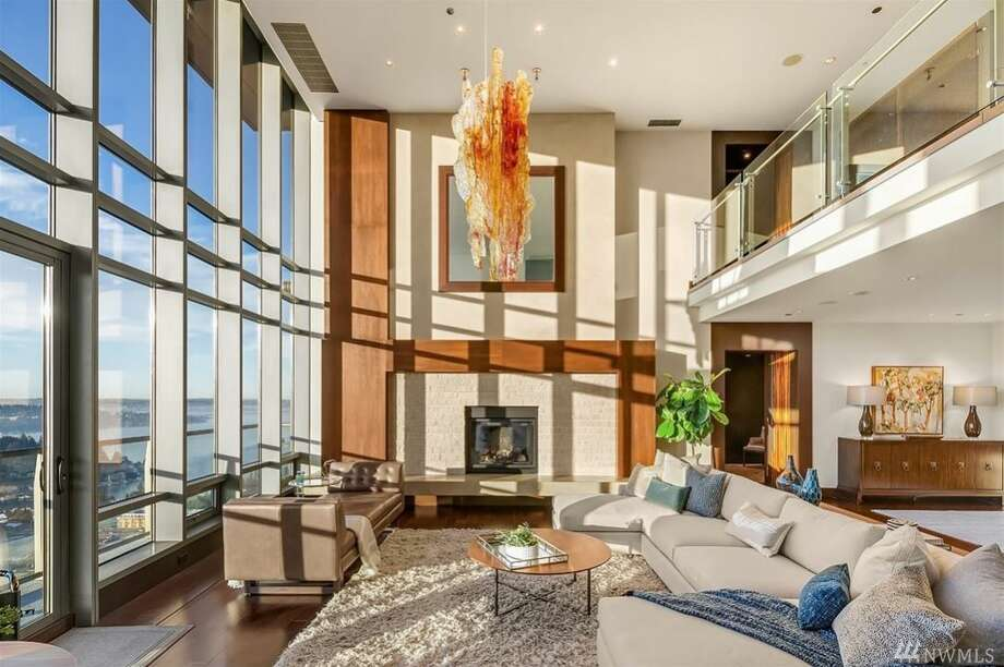 Edgar Martinez has listed his Bellevue penthouse atop One Lincoln Tower for $7.49 million. See the full listing here. Photo: Listed By Tere Foster At Compass