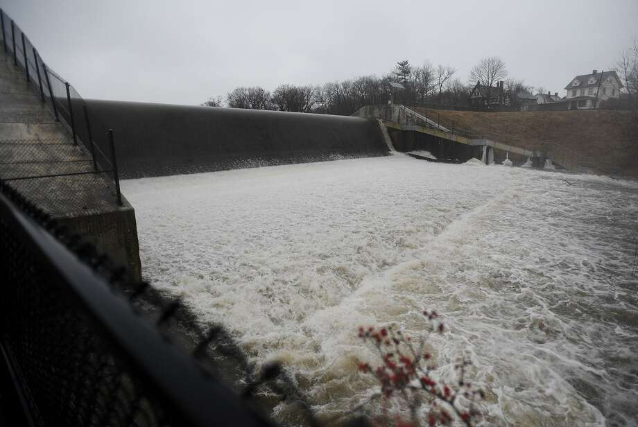 FILE PHOTO of the Beardsley Park dam on the Pequonnock River in Bridgeport, Conn. on Thursday, January 24, 2019. Photo: Brian A. Pounds / Hearst Connecticut Media / Connecticut Post