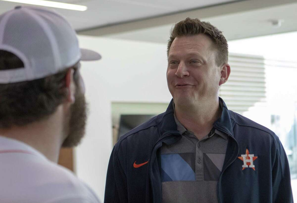 Astros TV analyst Geoff Blum will be part of the crew announcing Thursday's game against the Angels that will be broadcast exclusively on YouTube.