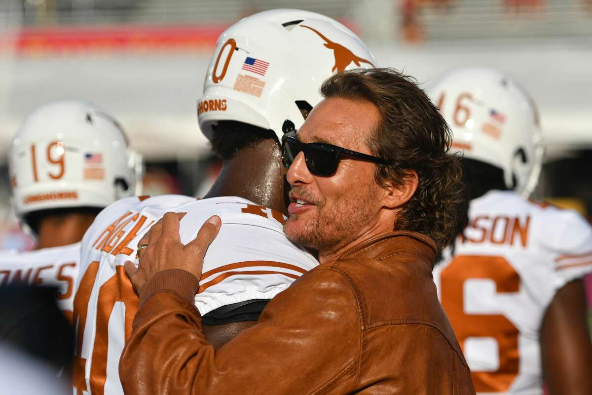 ESPN's College GameDay makes its way to Austin, with Matthew McConaughey sitting-in as aguest picker on the show. As a guest picker, McConaughey will give his game predictions with other analysts. The last time the show hit the road to Austin was in 2009.