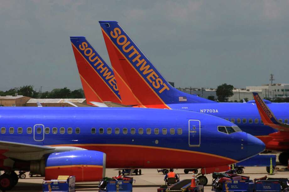 Southwest Airlines, based in Dallas, is the main carrier of Houston Hobby Airport. Photo: Bill Montgomery / Houston Chronicle
