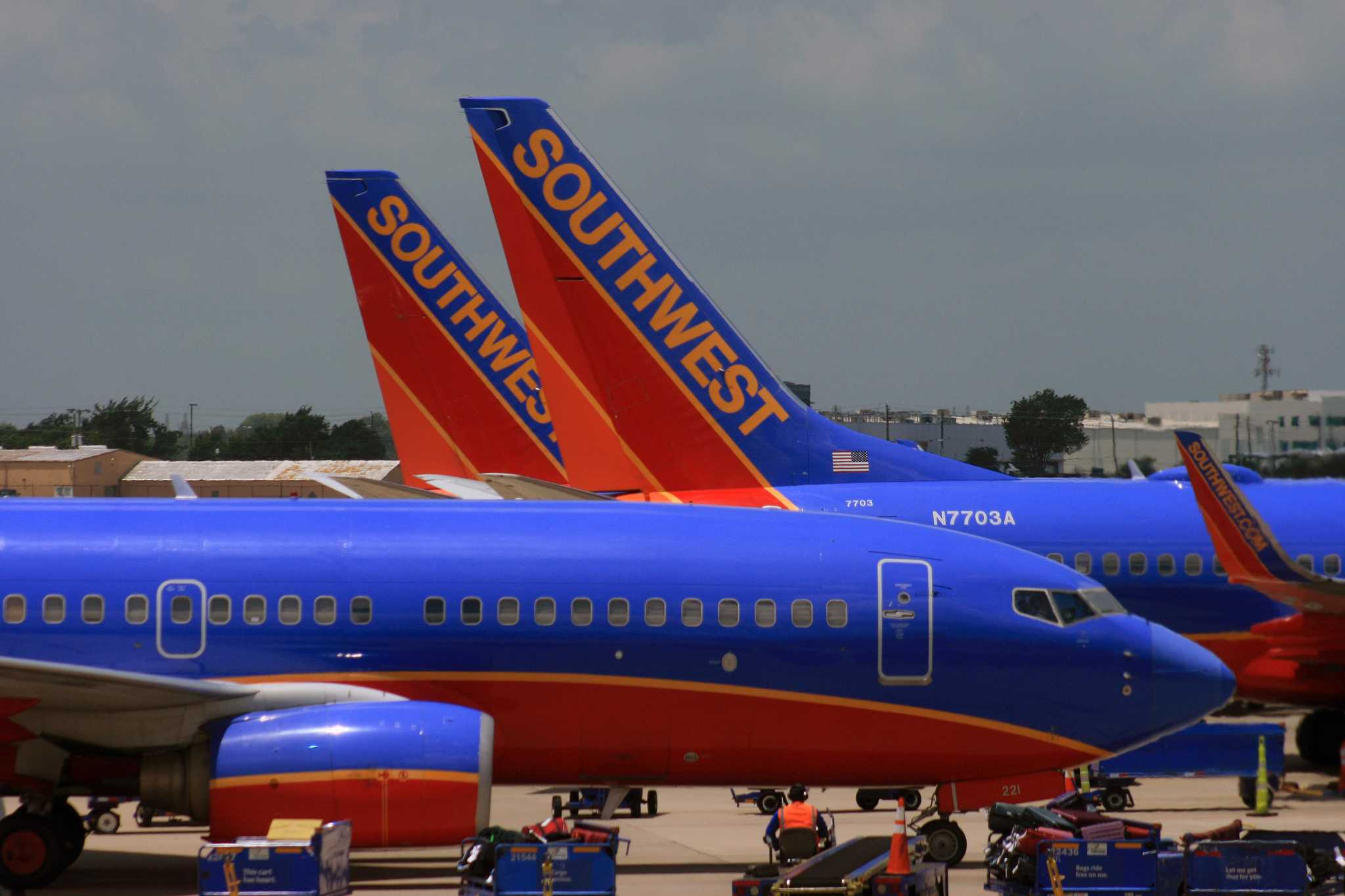 Southwest Airlines flights cancelled at Hobby Airport amid ...
