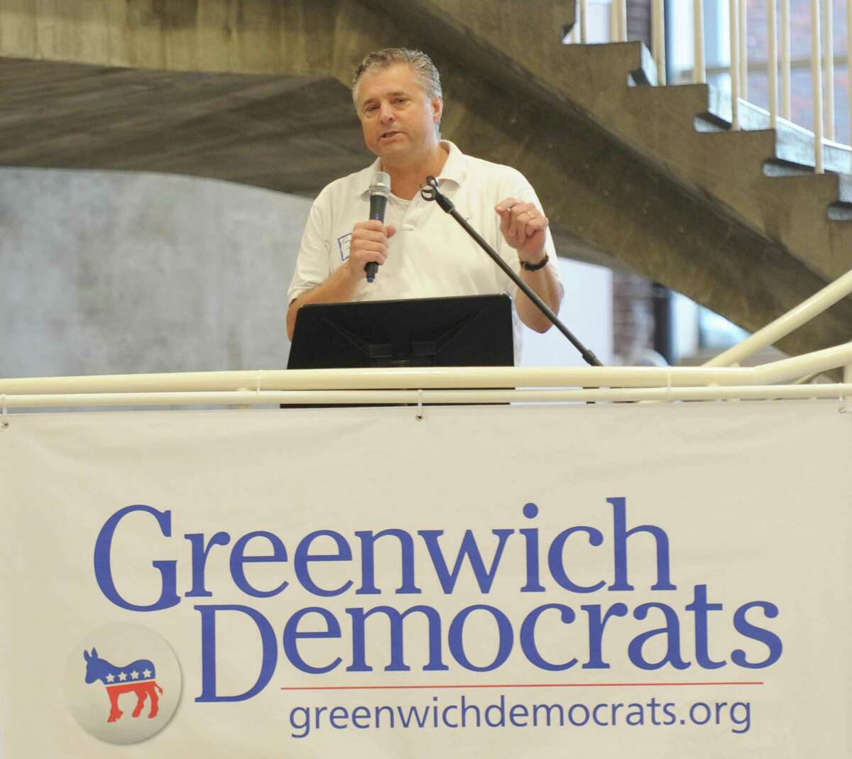 Greenwich Democrat Tony Turner