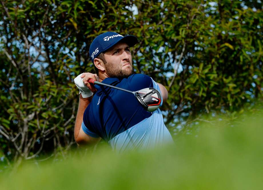 Jon Rahm mastered the North Course of Torrey Pines to lead the Farmers Insurance Open. Photo: Robert Laberge / Getty Images
