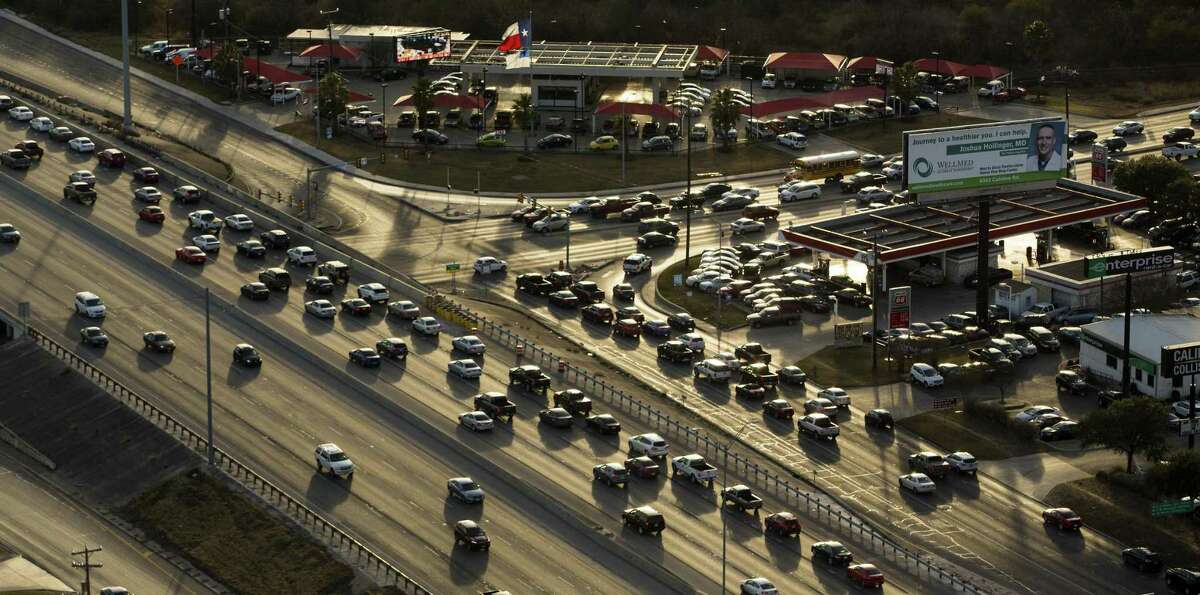 Click through the slideshow to see which Texas cities had the worst traffic in 2018, per an INRIX report.