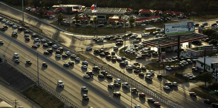 Click through the slideshow to see which Texas cities had the worst traffic in 2018, per an INRIX report.  Photo: William Luther /Staff Photographer / © 2018 San Antonio Express-News
