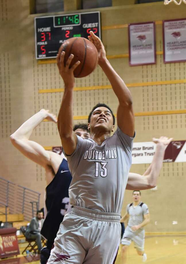 For the second straight year, Arkansas-Fort Smith handed TAMIU its largest ever home conference loss in an 83-57 defeat Thursday night. Xabier Gomez finished with a team-high 24 points. Photo: Christian Alejandro Ocampo /Laredo Morning Times / Laredo Morning Times