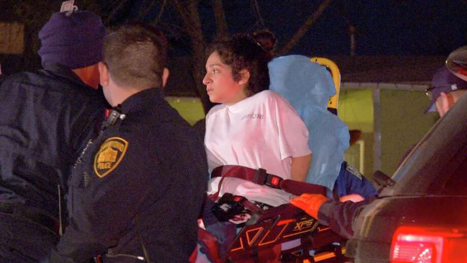 A 44-year-old man was hospitalized in stable condition after he was allegedly stabbed in the chest by his pregnant wife, police said. Photo: Ken Branca/21 Pro Video