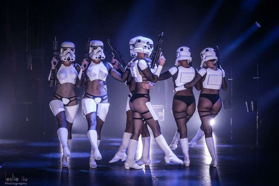 "Scenes from ""The Empire Strips Back,"" coming to New York on May 4. Photo: The Empire Strips Back"
