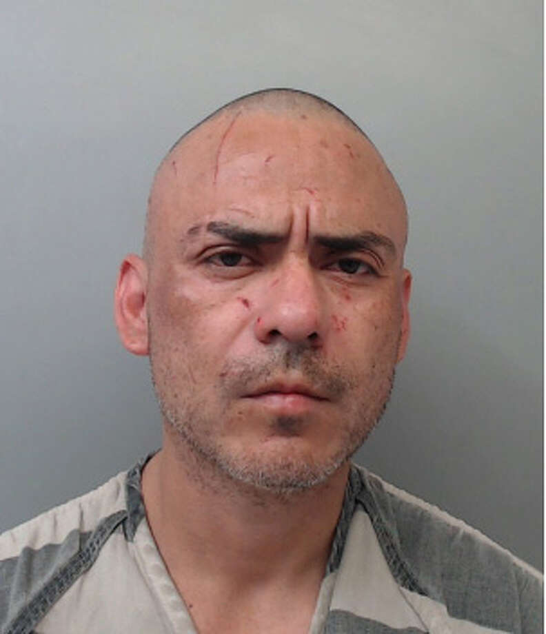 Ricardo Gonzalez, 38, was charged with burglary of a habitation with intent to commit a felony, failure to identify by giving false or fictitious information and possession of marijuana. Photo: Webb County Sheriff's Office