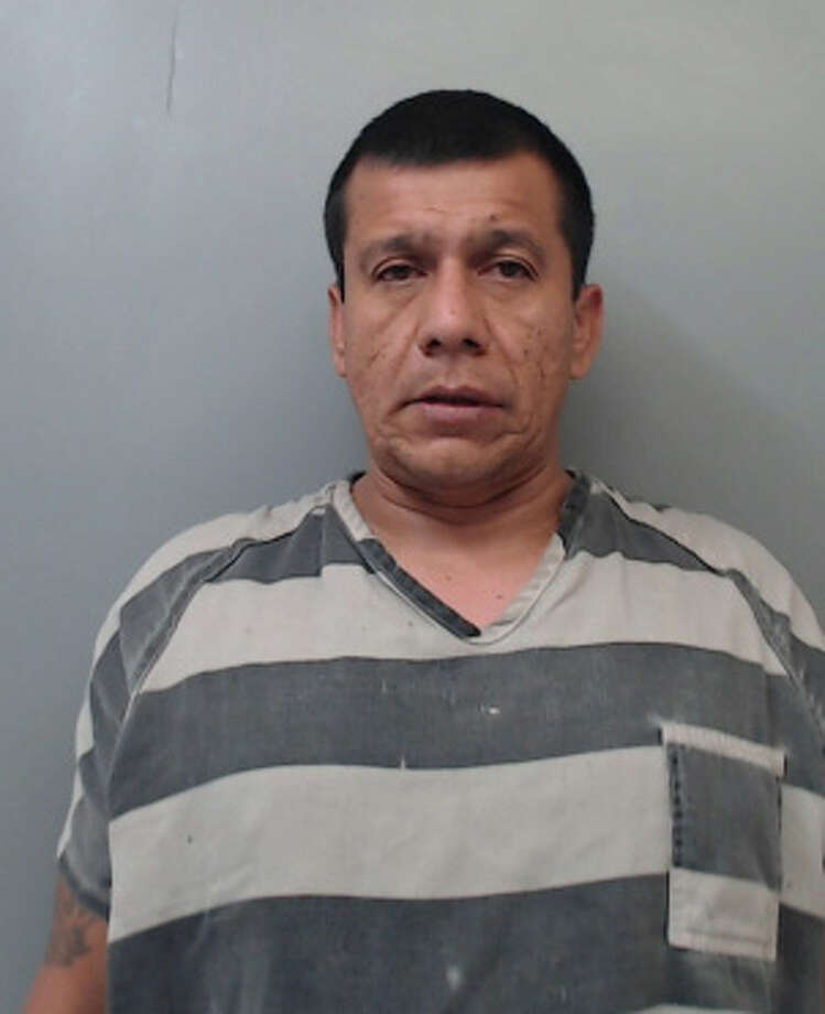 Pedro Jimenez Jr., 44, was charged with burglary of a habitation, criminal mischief and injury to an elderly person. Photo: Webb County Sheriff's Office
