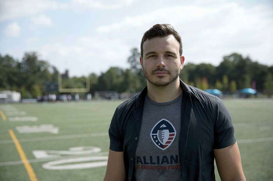 Charlie Ebersol, son of Dick Ebersol, is launching a football league called Alliance of American Football.  Photo: Courtesy Charlie Ebersol