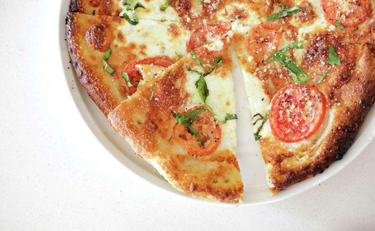 The Margarita pizza at La Vista 101.