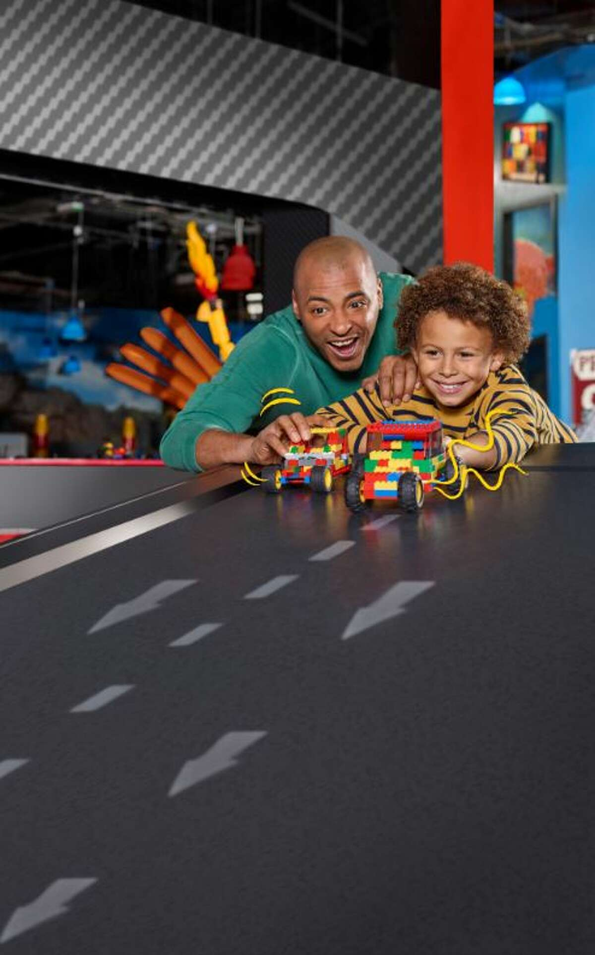 San Antonio's new Legoland Discovery Center, at the Shops at Rivercenter mall, is set to celebrate its grand opening April 12-14.