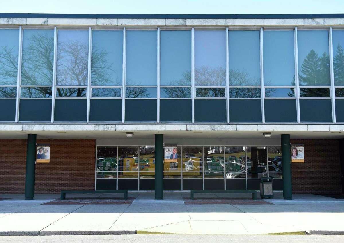 Trinity Catholic High School in Stamford.