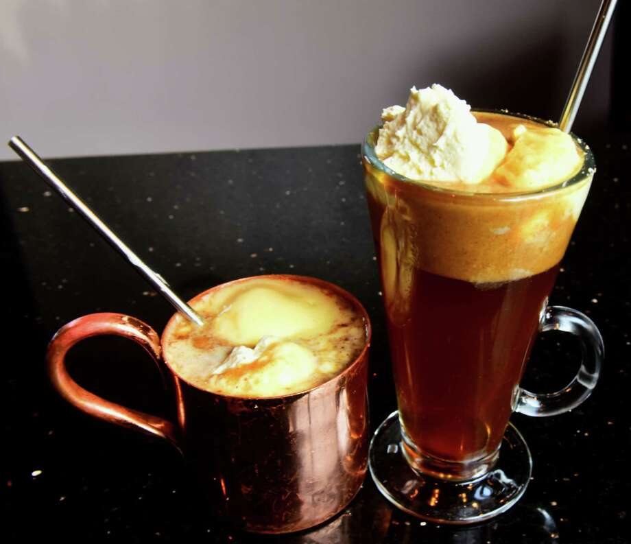 Hot buttered rum from Yono's/dp: An American Brasserie, Albany. (Photo by Steve Barnes)