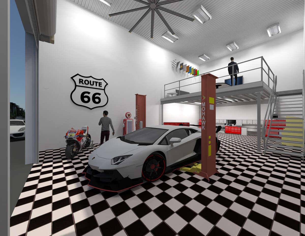 New Luxury Garage Condo Park Underway In Friendswood