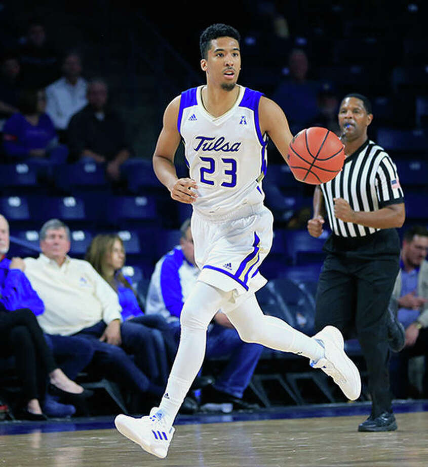 Former Riverview Gardens High standout and Saint Louis University player Zeke Moore will transfer from Tulsa to SIUE next season. Photo: Tulsa Athletics